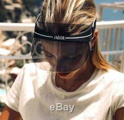 DIOR Black Visor Grey Lens DiorClub1 0H3 Sunglasses