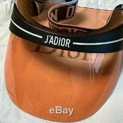 DIOR Orange Lens Black Visor DiorClub1 Sunglasses (DU900)