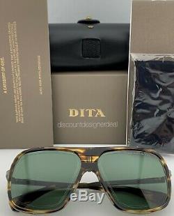 DITA ENDURANCE 79 Sunglasses Blackwood Black Iron G-15 Green Lens DTS104-60-02