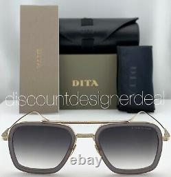 DITA FLIGHT 006 Sunglasses Gray Gold Frame Gray Gradient Lens 7806-H-GRY-GLD-52
