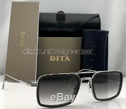 DITA FLIGHT EIGHT Sunglasses Silver Gray Frame Gray Gradient Lens DTS134-53-01