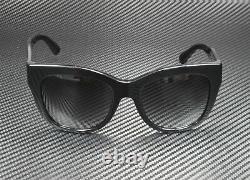 DOLCE & GABBANA DG4270 501 8G Black Grey Gradient 55 mm Women's Sunglasses