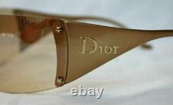 Dior Luxus Sonnenbrille Ski 6 Va3 Gold Neu