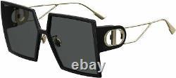 Dior Sunglasses 30MONTAIGNE 807-2K 58mm Black / Grey Lens