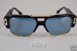 Dita Grandmaster Four Drx -2060-b -nvy- Gld 58 18k Gold Sunglasses