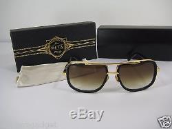 6d50b9000b72 Dita Mach One Titanium Black   Gold Drx 2030-b-59 18k Sunglasses