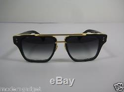 9698ba2c76 Dita Mach Three Titanium Drx 2059-a-blk-gld -55 18k Gold Sunglasses