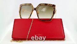 Fendi FF0410/S 086/HA Havana/Brown Lens Women Sunglasses