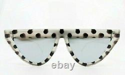 Fendi Triangular, Mirror Lens, Women Sunglasses, New withCase FF 0371/S 53mm