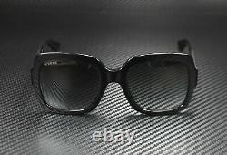 GUCCI GG0036S 001 Rectangular Square Black Grey 54 mm Women's Sunglasses