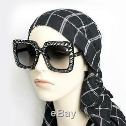 GUCCI GG0148S Black/Grey Shaded (001 A) Sunglasses