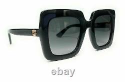 GUCCI GG0328S 001 Black Grey Gradient Women's Sunglasses 53mm