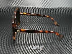 GUCCI GG0328S 002 Rectangular Square Havana Brown 53 mm Women's Sunglasses