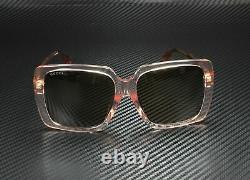 GUCCI GG0567SA 004 Pink Brown Women's Square Sunglasses 58 mm