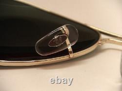 Guaranteed 100% Genuine Ray Ban Aviator RB3025 L0205 Sunglasses Green 58mm Lens