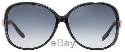 Gucci Butterfly Sunglasses GG3525KS D28JJ Shiny Black 3525