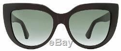 Gucci Cateye Sunglasses GG0164S 001 Black 53mm 0164