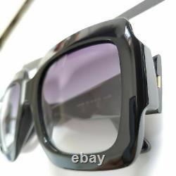 Gucci GG0053S Sunglasses for Women 001 Black Grey Gradient Opened Box