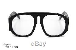 Gucci GG0152S BLACK Acetate Frame Women's Sunglasses %100 Authentic
