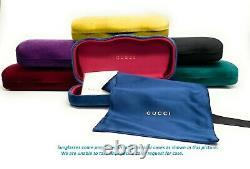 Gucci GG0208S 001 Black Grey Gradient Women's Sunglasses 49 mm