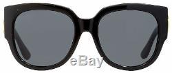 Gucci Square Sunglasses GG0142SA 001 Black 55mm 0142