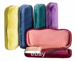 Gucci Square Sunglasses GG0567SA 004 Transparent Pink/Gold 58mm 0567