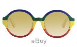 Gucci Sunglasses GG0280SA 005 Rainbow Oval Women's Sunglasses 51MM