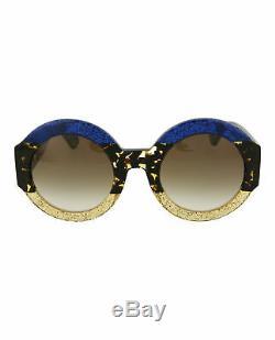 Gucci Womens Round/Oval Sunglasses GG0084S-30001055-002