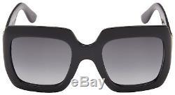 Gucci Womens Sunglasses GG0053S 001 Black Frame Grey Lens