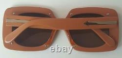 Karen Walker Hot House Tan Gold Women's Sunglasses Kas1501583
