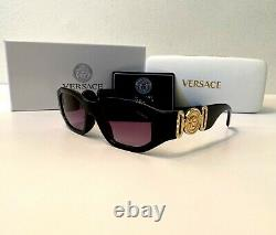 Latest Versace MEDUSA BIGGIE VE4361 Black Gray 53mm Lens Unisex Sunglasses
