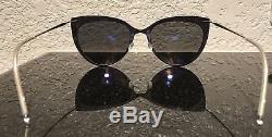 Lindberg Sunglasses Cat Eye Polarized Black