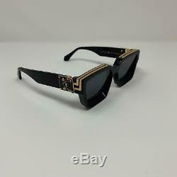 Louis Vuitton x Virgil Abloh Black MILLIONAIRES 1.1 Sunglasses Supreme limited