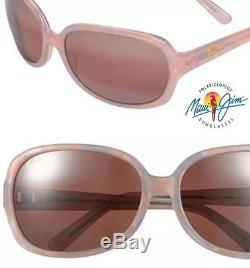 Maui Jim RAINBOW FALLS women Pearl Pink Maui Rose NEW POLARIZED MSRP $319