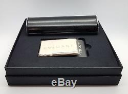 NEW Bvlgari sunglasses BV8186KB 827/T3 55 Cat Eye Green Gold plated $960 VINTAGE