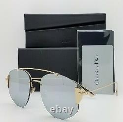 NEW Dior sunglasses Stronger 000 Rose Gold Grey Mirror AUTHENTIC Women's Dior 58