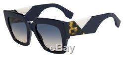 NEW Fendi FD Ff0263 Sunglasses 0PJP Blue 100% AUTHENTIC