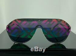 NEW Fendi FF M0039 F74R3 Fabulous Sunglasses Clear Silver Unisex 100% UV