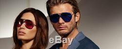 NEW Genuine PORSCHE DESIGN Titanium Aviator Matte Grey Sunglasses P 8478 C 69 MM