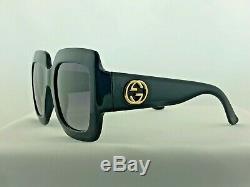 NEW Gucci GG0053S Sunglasses Black 100% UV Women Sunglasses