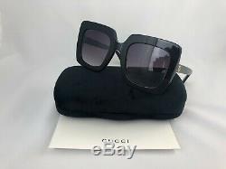 NEW Gucci GG0328S Sunglasses Black 100% UV Women Sunglasses