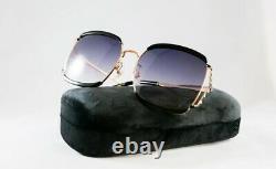 NEW Gucci Gucci Logo GG 0593SK Sunglasses 001 100% AUTHENTIC