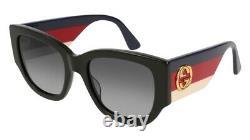 NEW Gucci Sensual Romantic GG 0276S Sunglasses 001 Black 100% AUTHENTIC