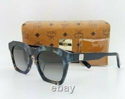 NEW MCM Sunglasses Havana Blue / Grey MCM656SA (235) 51mm AUTHENTIC 51-21-145