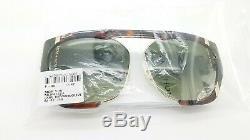 NEW MCM Sunglasses Havana Gold Olive Green Gradient MCM672SA 230 62mm AUTHENTIC
