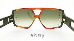 NEW MCM Sunglasses Havana Olive Green Gradient MCM671S 230 61m AUTHENTIC Unisex