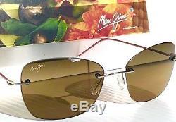 NEW Maui Jim APAPANE Rimless w Bronze POLARIZED Lens Women's Sunglass HS717-16