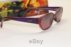 NEW Maui Jim Anini Beach RS269-28A Amethyst Womens Sunglasses Polarised MSRP 219