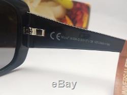 NEW Maui Jim Black w Grey POLARIZED Plus Lens Sunglass womens $299