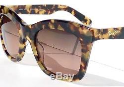 NEW Maui Jim Coco Palm Tokyo Tortoise w Polarized ROSE Women Sunglass RS720-10L